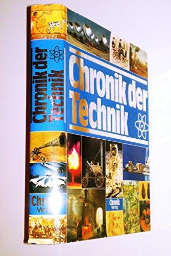 9783860471340: Chronik der Technik