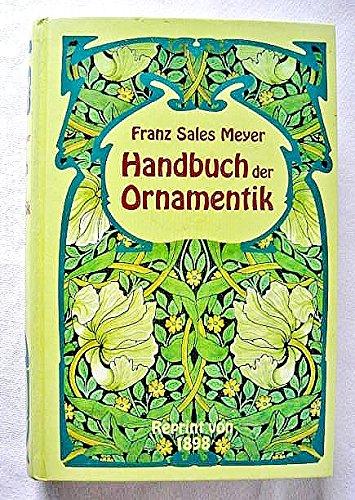 9783860475683: Handbuch der Ornamentik