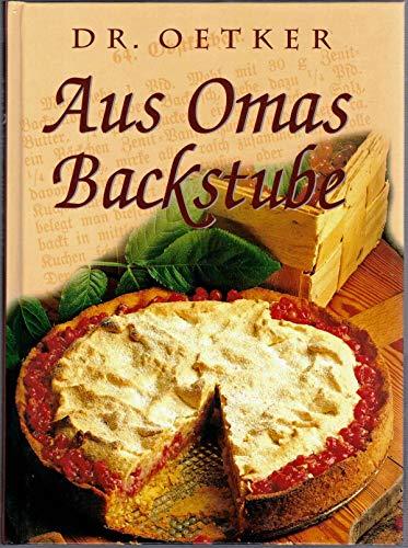 9783860477021: Dr. Oetker - Aus Omas Backstube