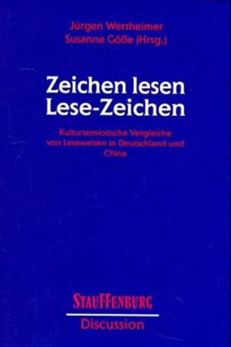 Zeichen lesen, Lese-Zeichen: Jürgen Wertheimer