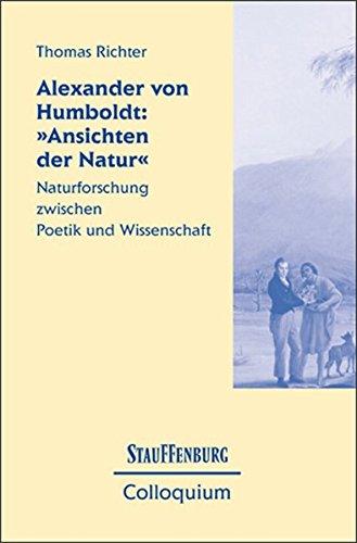 """Alexander von Humboldt: """"Ansichten der Natur"""": Thomas Richter"""