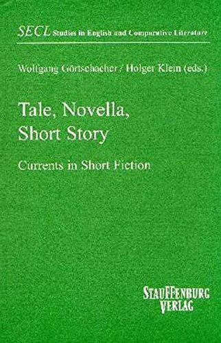 Tale, Novella, Short Story: Wolfgang Görtschacher