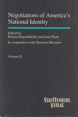 Negotiations of America's National Identity: Roland Hagenbuchle, Josef