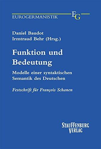 Funktion und Bedeutung: Daniel Baudot