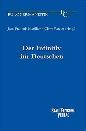 Der Infinitiv im Deutschen (Paperback)