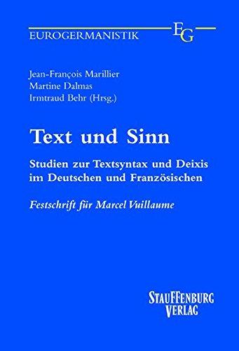 Text und Sinn: Jean François Marillier