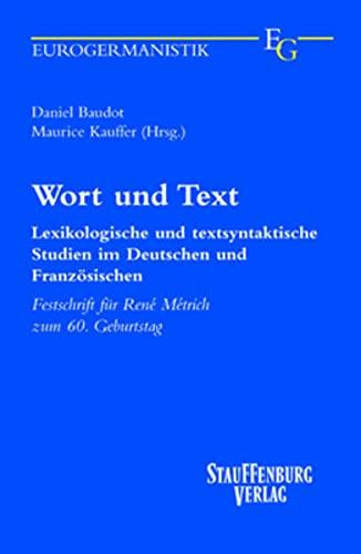 Wort und Text: Daniel; Kauffer Baudot