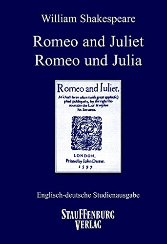 Romeo and Juliet / Romeo und Julia.: Shakespeare, William, Fritz,