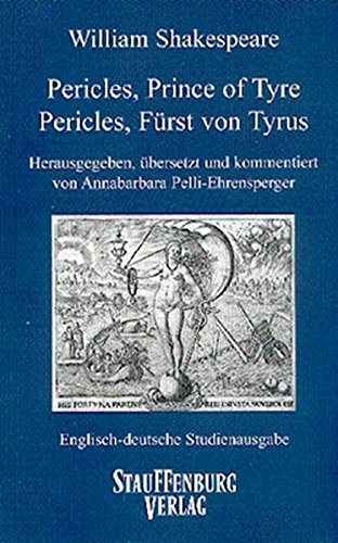 9783860575666: Pericles, Prince of Tyre / Pericles, Fürst von Tyrus