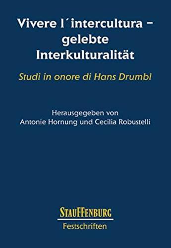 Vivere l'intercultura - gelebte Interkulturalität: Antonie Hornung