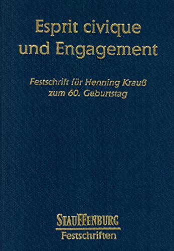 Esprit civique und Engagement.: Hanspeter Plocher