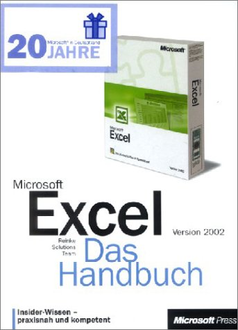 9783860630679: Microsoft Excel 2002, Das Bundle, 2 Bde. m. 2 CD-ROMs