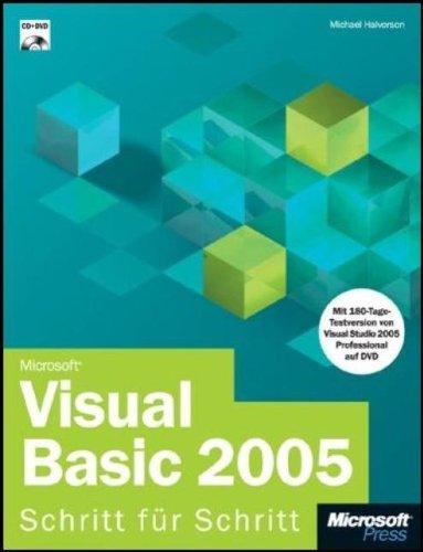 9783860635506: Microsoft Visual Basic 2005 - Schritt für Schritt