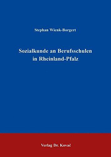 9783860647998: Sozialkunde an Berufsschulen in Rheinland-Pfalz .