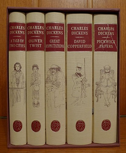 9783860704608: Boxed Set, 5 Volumes, Great Expectations, David Copperfield, Pickwick Papers, Oliver Twist, Tale of Two Cities.