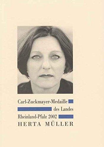 Carl-Zuckmayer-Medaille des Landes Rheinland-Pfalz 2002: Herta Müller