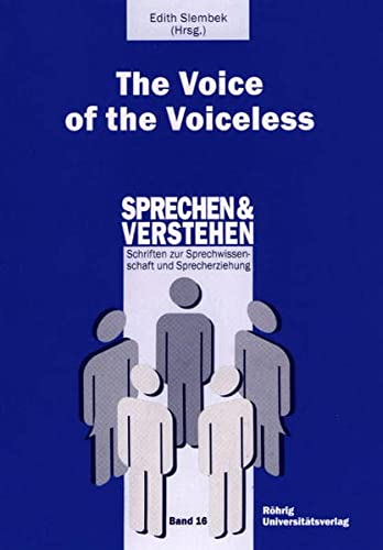 9783861102076: The Voice of the Voiceless