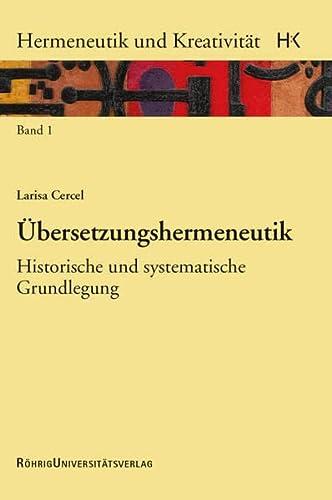Übersetzungshermeneutik: Larisa Cercel
