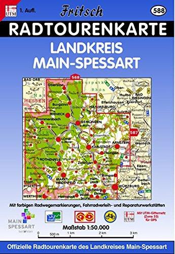 9783861165880: Landkreis Main-Spessart Radkarte