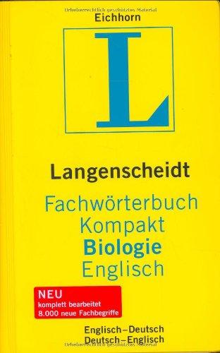 9783861172741: Langenscheidts Fachwörterbuch Kompakt Biologie