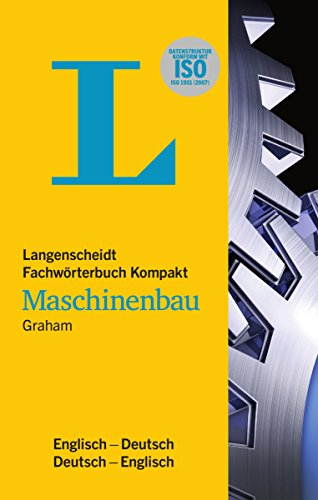 9783861173427: Langenscheidt Bilingual Dictionaries: Langenscheidts Fwb Kompakt Maschinenbau Englich/Deutsch D/E