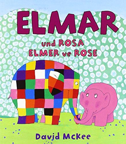 9783861214618: Elmar und Rosa, Deutsch-Türkisch. Elmer ve Rose