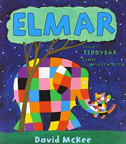 Elmar und der Teddybär, Deutsch-Italienisch. Elmer e