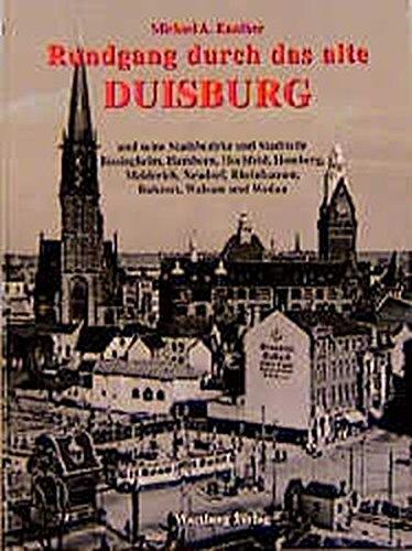 9783861346890: Rundgang durch das alte Duisburg