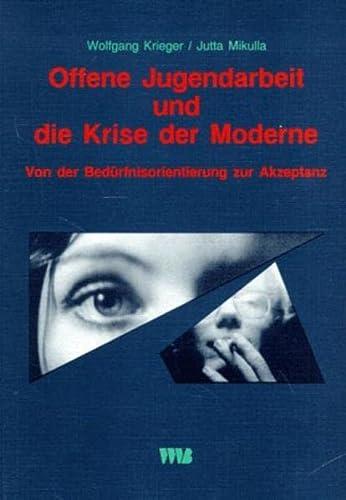 9783861351511: Offene Jugendarbeit und die Krise der Moderne