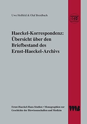 Haeckel-Korrespondenz: Uwe Hossfeld