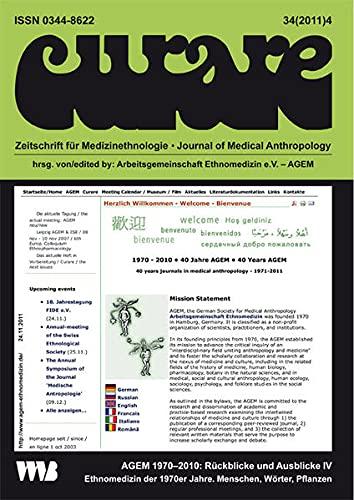 Curare. Zeitschrift für Ethnomedizin und transkulturelle Psychiatrie