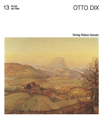 9783861360490: Otto Dix: Der See, die Kunst, die Landschaft (Kunst am See)