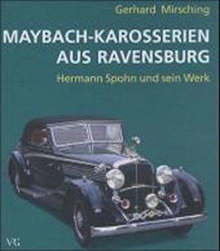 9783861360643: Maybach-Karosserien aus Ravensburg