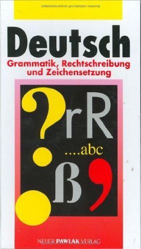 9783861461210: Deutsch. Grammatik, Rechtschreibung und Zeichensetzung by Steffen Höhne