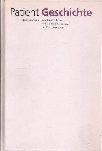 Patient Geschichte: Linne, Karsten; Wohlleben,