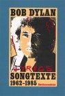 9783861500520: Lyrics. Songtexte 1962-1985 (Englisch Und Deutsch)