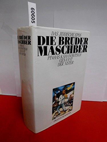 9783861500803: Die Brüder Maschber. Das jiddische Epos