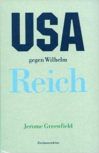 9783861501077: USA Gegen Wilhelm Reich