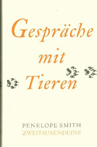 9783861501121: Gespräche mit Tieren (Livre en allemand)