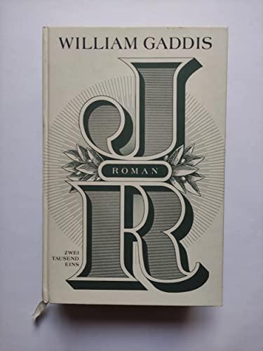 JR: Gaddis, William