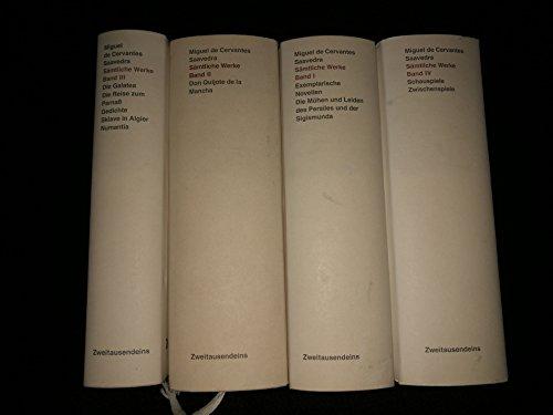 Acht Schauspiele und acht Zwischenspiele. Alle neu: Miguel de Cervantes