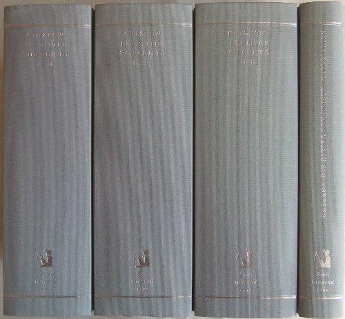 9783861502784: Die Ritter vom Geiste. Roman in neun Büchern. Band I: 1.-3. Buch. Band II: 4.-6. Buch. Band III: 7.-9. Buch. Band IV: Materialien