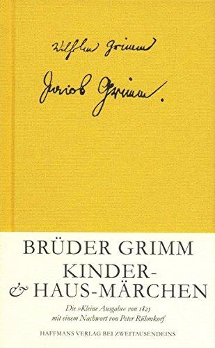 9783861505884: Kinder- und Haus-M�rchen: Die Kleine Ausgabe von 1825 (Livre en allemand)