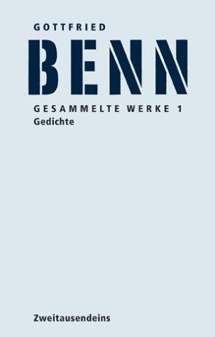 Gesammelte Werke (3 Bände): Benn, Gottfried