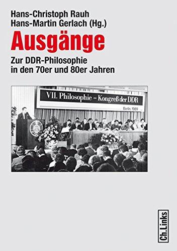 Ausgänge: Hans-Christoph Rauh