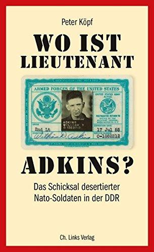 9783861537090: Wo ist Lieutenant Adkins?