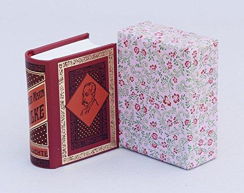 Gedichte : Miniaturbuch: Rainer Maria Rilke
