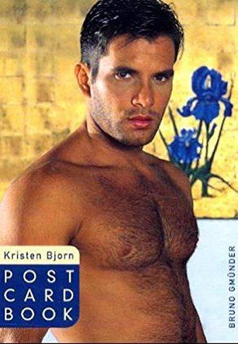 Kristen Bjorn : Best of Men of Kristen Bjorn (Post Card Book #23)