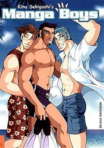 Manga Boys (Hot Shots): Illustrator-Kinu Sekigushi