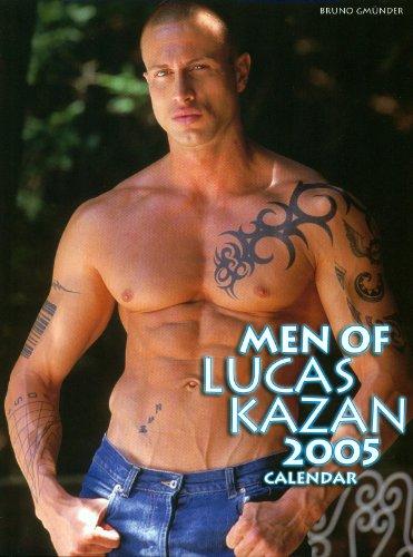 9783861876144: Men of Lucas Kazan 2005 Calendar